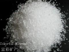 透明石英砂 二氧化硅颗粒-- 连云港东海富彩矿物制品有限公司