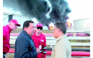 委内瑞拉法尔孔州炼油厂发生大规模爆炸引发火灾致至120多人死亡