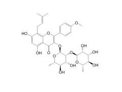鼠李糖基淫羊藿次苷II CAS:135293-13-9-- 成都钠钶锂生物科技有限公司
