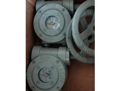 QDX3-1手动涡轮执行器,DN80蝶阀蜗轮箱 手动减速机