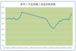 新华财经•指数∣8月份新华•中盐两碱工业盐价格指数小幅上涨