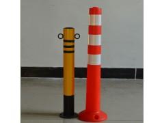 批发交通安全设施隔离柱路桩防撞柱警示柱分道柱反光护角黄黑-- 东莞市新恒安交通设备有限公司