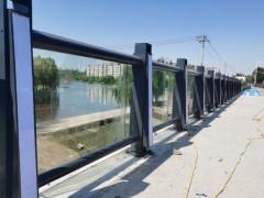 桥梁灯光护栏道路防撞栏杆围档河堤景观人行道波形Q235钢材-- 东莞市新恒安交通设备有限公司