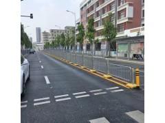 锌钢护栏港式基坑防护栏防撞栏杆围档交通安全设施基坑波形防护栏-- 东莞市新恒安交通设备有限公司